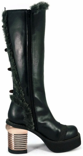 "3"" Knee High Platform Boots * LANGDON"