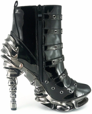 "5"" Ankle Bootie With Inner Zipper * MACHINA"