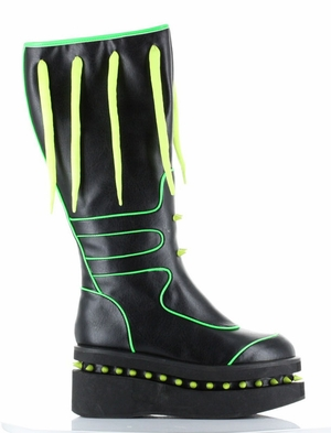 "2"" Matte Boots With Inner Zipper * NEBULA"