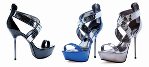 "5"" Metallic Stiletto Sandal * 567-RONI"
