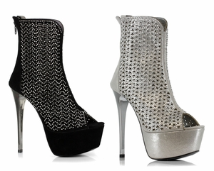 "6"" Mesh Ankle Boot  * 607-SONIA"