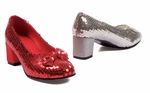"2"" Women's Sequined Shoe * 203-JUDY"