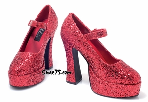 Mary Jane Platform Shoes * 557-EDEN