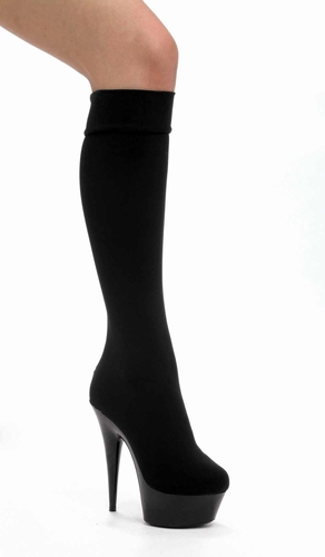"6"" Pointed Stiletto Heel * 609-LYCRA"