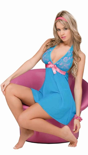 Babydoll with Matching G - String * 7009