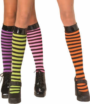 Striped Knee High * 6052