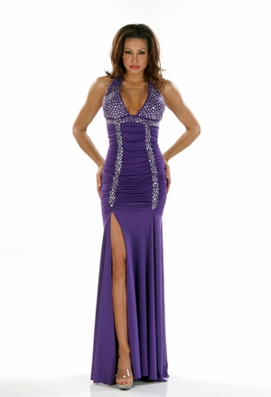 Stretch Lycra Gown * 4434
