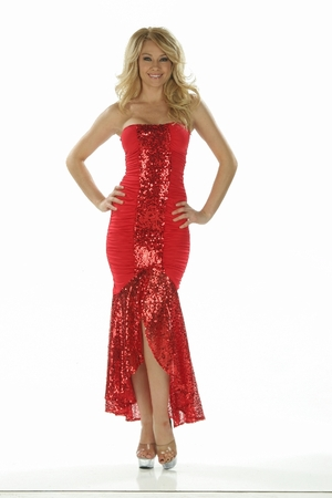 Sequins Gown * 4811