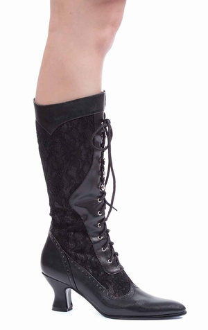 "2 1/2"" Boot with Lace * 253-REBECCA"