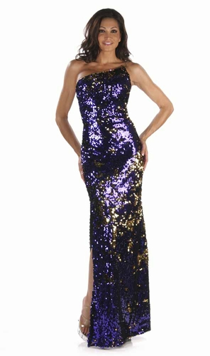 Sequin Pailette Gown * 4900