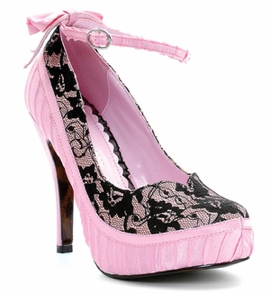 "4"" Pump With Ankle Strap * BP410-MISSY"