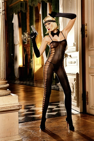 Jacquard Bodystocking * 270