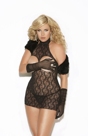 Cupless Lace Dress * 8527Q