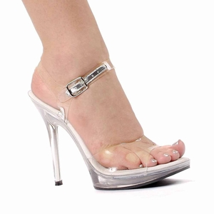"5"" Clear Sandal * 502-BROOK"