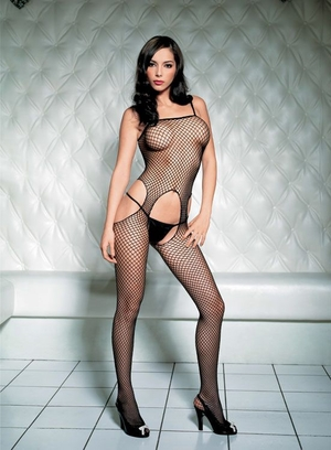 Seemless Industrial Net Bodystocking * 89016