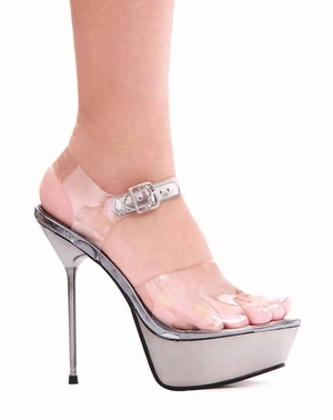 "5"" Metallic Stiletto Sandal * 567-BROOK"