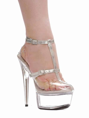 "6"" Pointed Stiletto Sandal * 609-GIA"