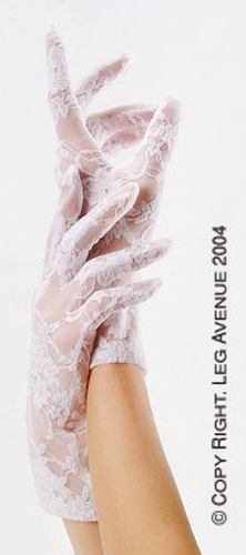 Wrist Length Stretch Lace Gloves * G1280