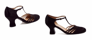"2 1/2"" Satin Dance Shoe * 254-LUCILLE"