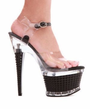 "6"" Ankle Strap * 649-DIAMANTE"