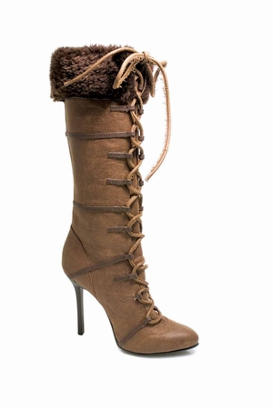"4"" Heel Knee High Boot * 433-VIKING"