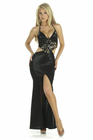Metallic Dot Gown * 5229