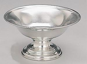 Woodbury Pewter Footed Gleason Bowl