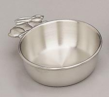 Woodbury Pewter Rabbit Porringer