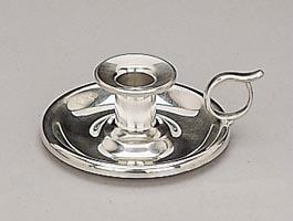 Woodbury Pewter New England Chamberstick Pair