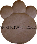 """BIGFOOT"" PAW PRINT STEPPING STONE MOLD (13.5"" x 16"")"