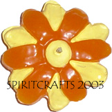 "DAISY BLOSSOM FLOATER CANDLE MOLD (4"", 3 oz)"