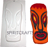 SPOOKY TIKI PLASTER CRAFT MOLD