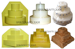 WEDDING CAKE MOLD SET (SAVE OVER 10%!)