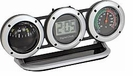Car Dash Digital Clock, Compass, and Thermometer