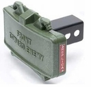 Green Claymore Hitch Cover
