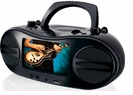 """Portable DVD/CD Player with 7"""" LCD Screen for Movies and Karaoke"""