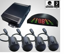 Professional OEM 4 Parking Sensor System for SUV / VAN