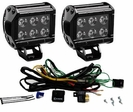 Dual 18 Watt LED 1400 Lumen Driving Light Kit