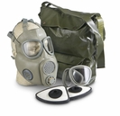 Nato Chemical / Biological Gas Mask w/ 2 LF-10M Filters