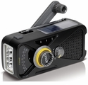 3 LED Hand Wind AM/FM Weather Radio with USB Charger