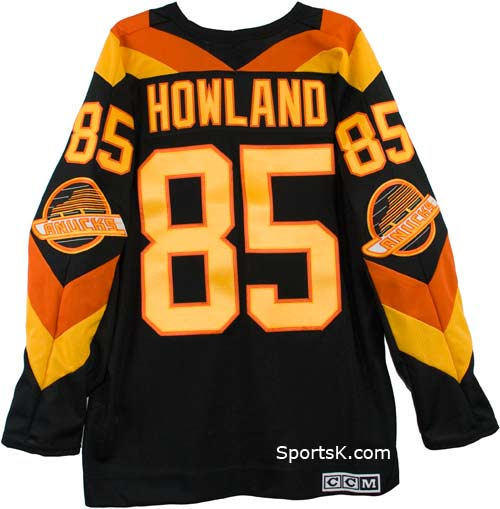 6539433be1b Customized Vintage Vancouver Canucks 1982 Jersey (Road)