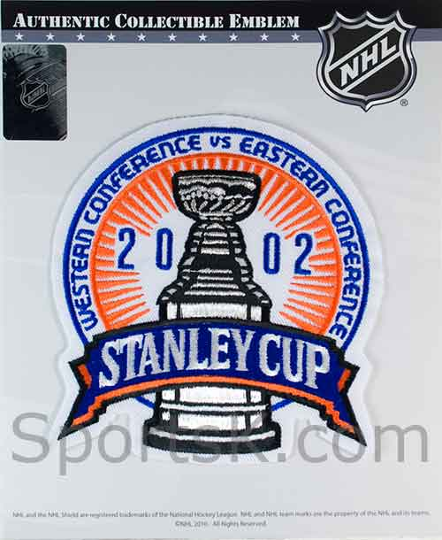 21a7b47fa2e 2002 Stanley Cup Collectors NHL Patch-No Shipping Charge-SportsK