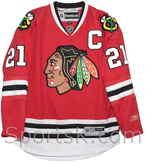 100% authentic 50% off official images Stan Mikita Chicago Blackhawks Premier Reebok Home Jersey ...