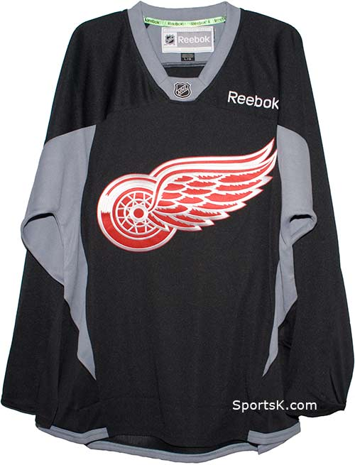 f9f67b472 ... coupon for detroit red wings nhl black practice jersey sale size medium  7b7f5 59762
