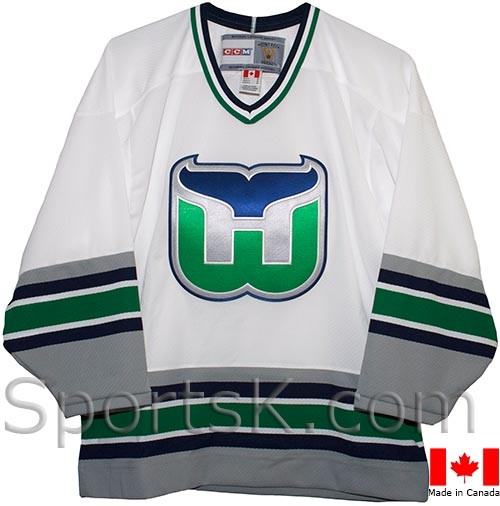 Vintage Hartford Whalers Home Jersey (White 1992-1997) 47f15f7329f