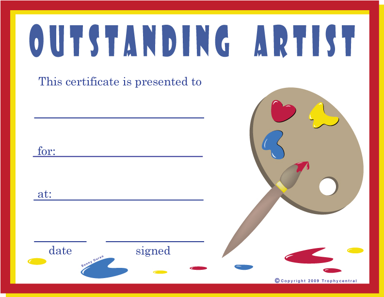 Free award certificates cheerleading award certificate template free art certificates certificate free art yadclub Images