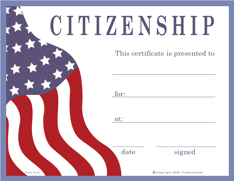 cross country certificate templates free - free citizenship certificates certificate free citizenship