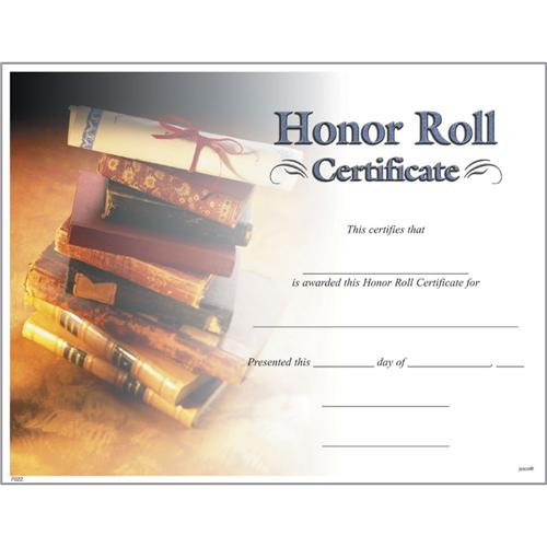 Honor roll certificates photo honor roll certificate yadclub Choice Image