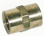 "High Pressure 3/8"" Steel Union<br>3/8"" F x 3/8"" F<br>Free Ground Shipping"