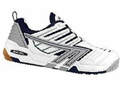 Hi-Tec 4:SYS Squash / Racquetball Men's Shoes, White / Navy / Silver